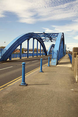 Photograph - Foryd Bridge by Christopher Rowlands