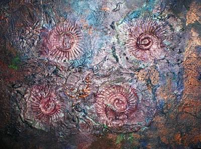 Fossils 1 Art Print by Carol Rowland