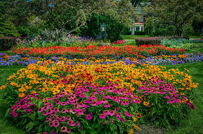 Photograph - Foster Park Gardens by Gene Sherrill