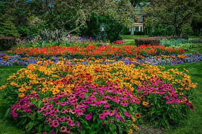 Photograph - Foster Park Gardens by Gene Sherrill