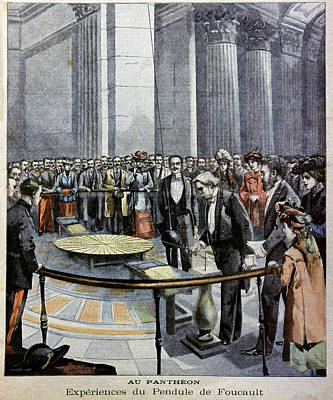 Foucault's Pendulum Print by Cci Archives