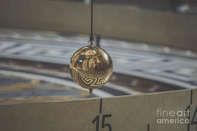 Christmas Cards - Foucaults Pendulum by Patricia Hofmeester