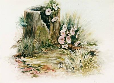 Kristine Painting - Found It by Kristine Plum
