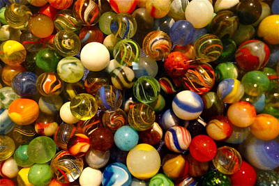 Photograph - Found My Marbles by Denise Mazzocco