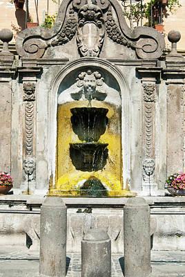 18th Century Photograph - Fountain (18th Sec by Nico Tondini