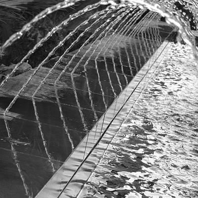 Photograph - Fountain Art by Cheryl Miller