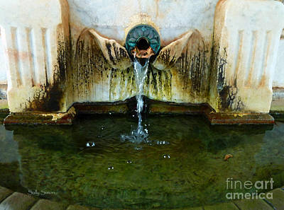 Photograph - Fountain At Andersonville by Sally Simon