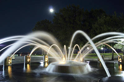 Fountain Charleston Waterfront Park Art Print