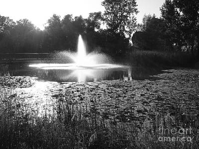 Photograph - Fountain by Ginny Gaura