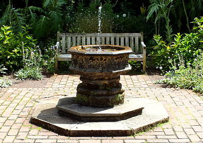 Photograph - Fountain by Guy Pettingell