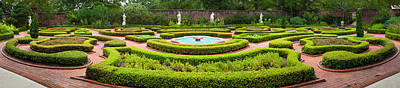 Fountain In A Garden, Latham Memorial Art Print