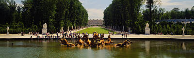 Fountain In A Garden, Versailles, France Art Print by Panoramic Images