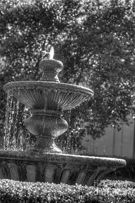 Photograph - Fountain by Jonathan Harper