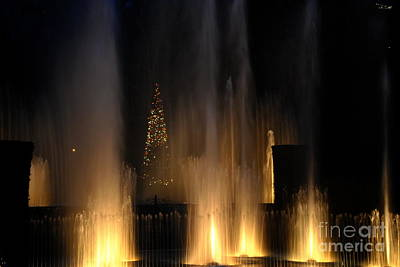 Photograph - Fountain Magic - Longwood Gardens by Jacqueline M Lewis