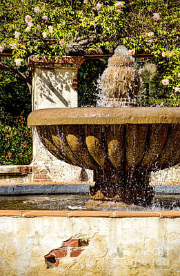 Art Print featuring the photograph Fountain Of Beauty by Peggy Hughes