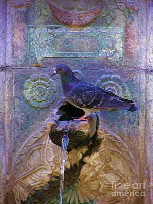 Photograph - Rhodes Fountain by Michele Penner