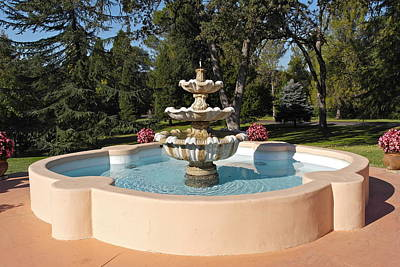 Photograph - Fountain Retreat by Michele Myers