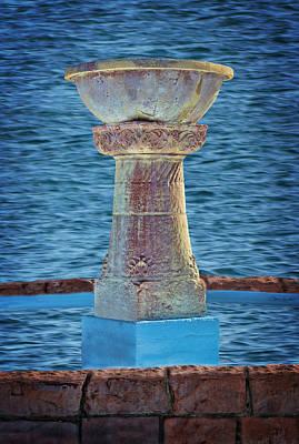 Fountain Art Print by Sylvia Thornton