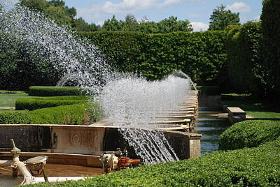 Bringing The Outdoors In - Fountains by Jennifer Ancker