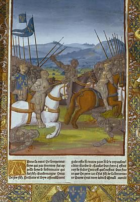 Fouquet, Jean 1420-1481. Grandes Art Print