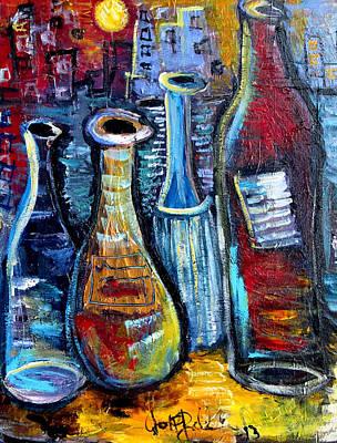 Painting - Four Apostles  by Jon Baldwin  Art