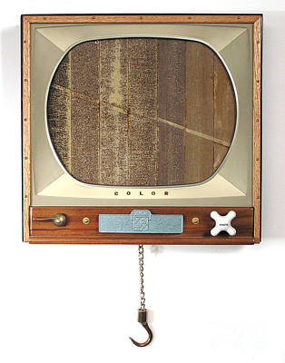 Czappa Sculpture - Four Arguments For The Elimination Of Tv  #6 by Bill Czappa
