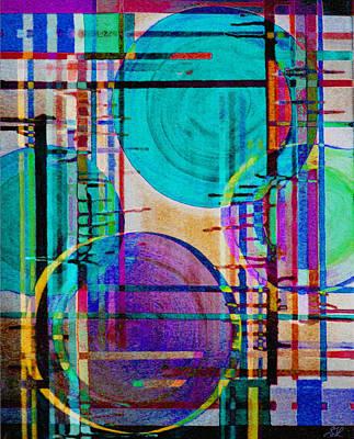 Digital Art - Four Cold Suns by Stephanie Grant