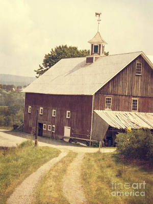 Four Corners Farm Vermont Art Print by Edward Fielding