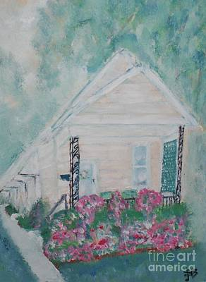 Painting - Four Doors Mountains Of Memories by Shelley Jones
