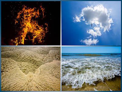 Four Elements Art Print by Martin Liebermann