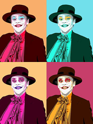 Jack Nicholson Mixed Media - Four Jacks by Dominic Piperata
