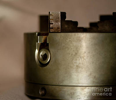 Photograph - Four Jaw Chuck  by Wilma  Birdwell