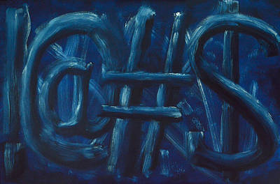 Painting - Four Letter Words by Shawn Marlow