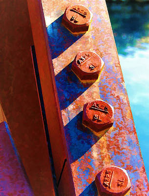 Photograph - Four On A Bridge by Wendy J St Christopher