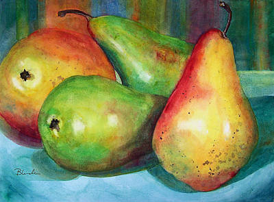 Four Pears Art Blenda Studio Art Print