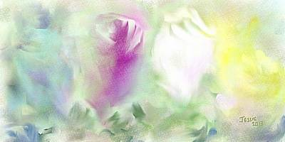 Painting - Four Roses by Jessica Wright