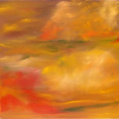 Wall Art - Painting - Four Seasons Fall by Linda Wimberly