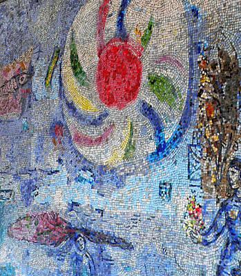 Four Seasons - Marc Chagall Print by David Bearden