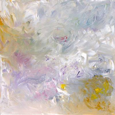 Wall Art - Painting - Four Seasons Spring by Linda Wimberly