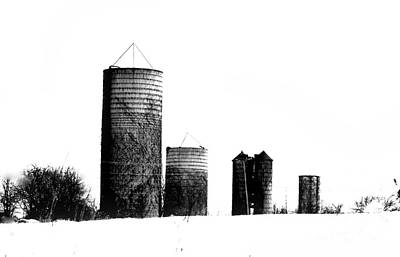 Photograph - Four Silos by Marcia Lee Jones