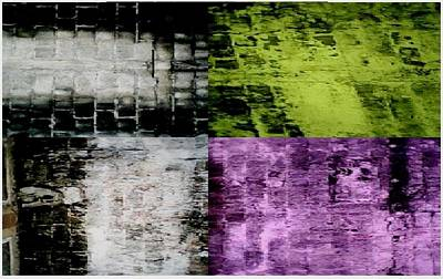 Four Textures In A Room Original