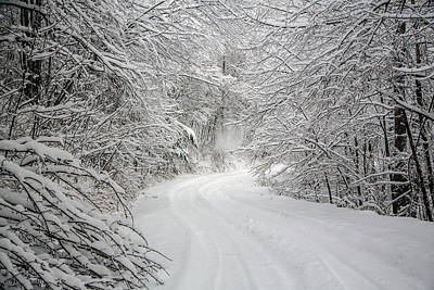 Photograph - Four Wheel Winter by John Haldane