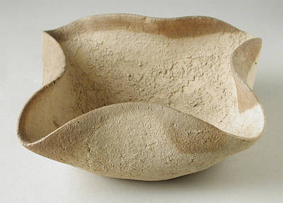 Four Wick Oil Lamp, 2000 Bc Art Print by Los Angeles County Museum