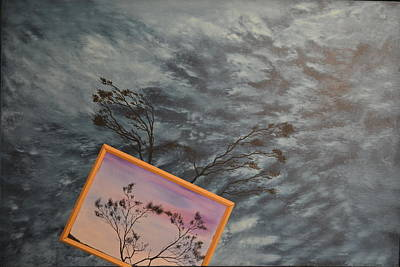 Top With Oil Painting - Four Winds Of Change by Stuart Engel