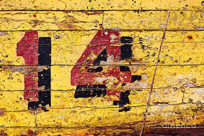 Fourteen Photograph - Fourteen by James Brunker
