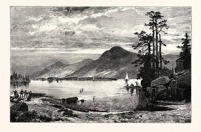 Fourteen-mile Island Art Print