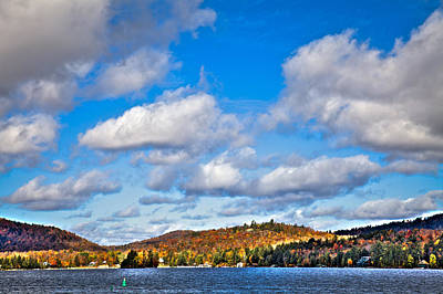 Color Photograph - Fourth Lake In Inlet New York by David Patterson