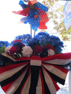 Fourth Of July Original by Rinna B Flohr