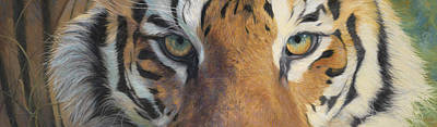 Tiger Wall Art - Painting - Forever Wild by Lucie Bilodeau