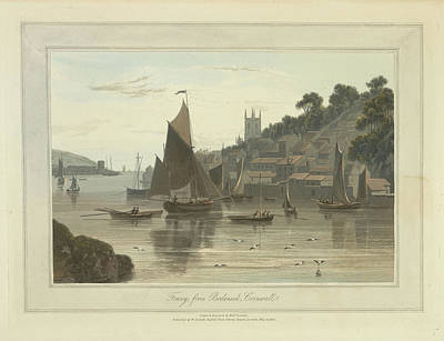 Fowey Art Print by British Library